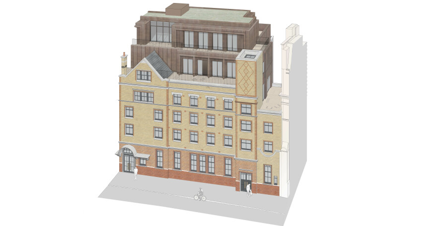 Chapter House Covent Garden designed by Apt Architects London for Londonewcastle