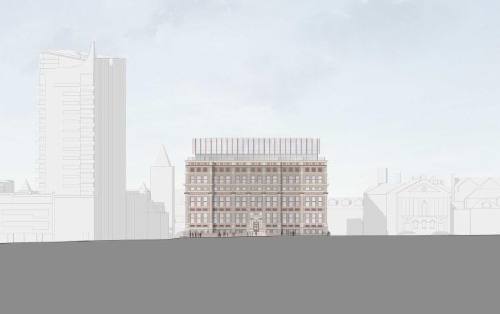 Northern Civic Quarter Leeds designed by Apt Architects London