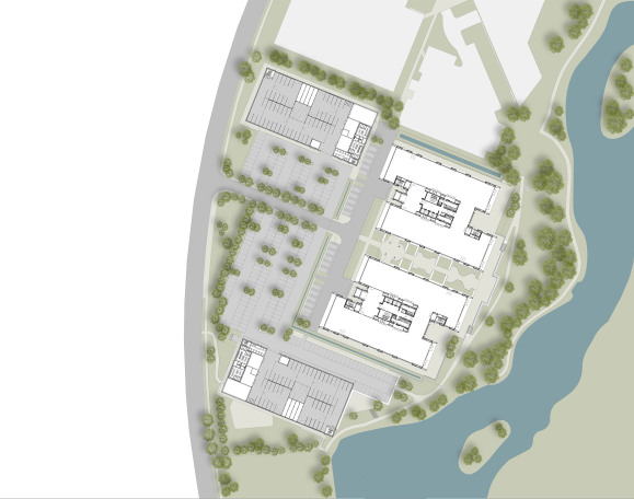 400 & 450 Longwater Avenue Reading, Designed by Apt Architects London