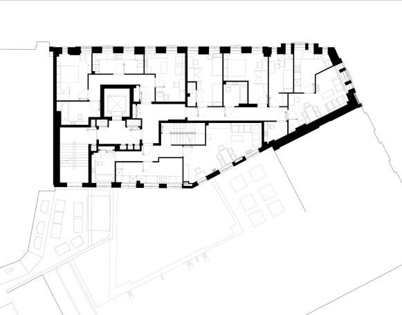 Medius House Soho designed by Apt Architects London
