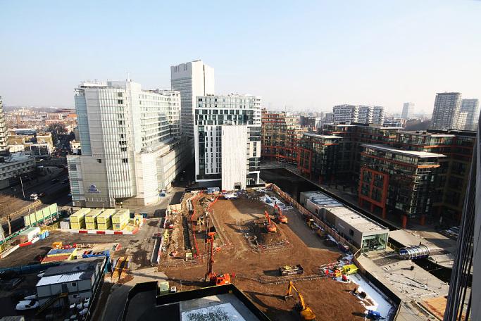 3 Merchant Square Paddington designed by Apt Architects, Clerkenwell, London