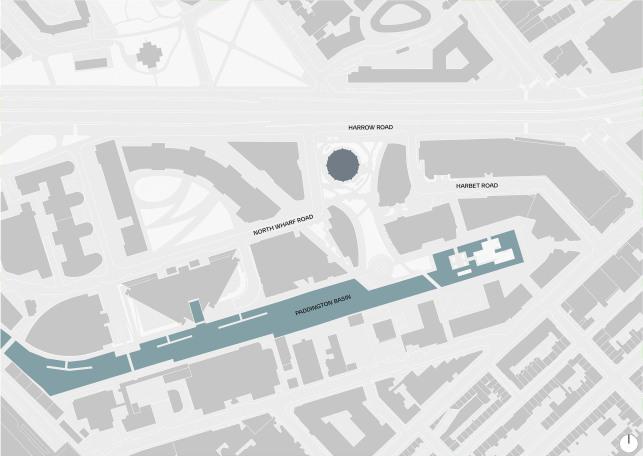 1 Merchant Square Paddington, Designed by Apt Architects London