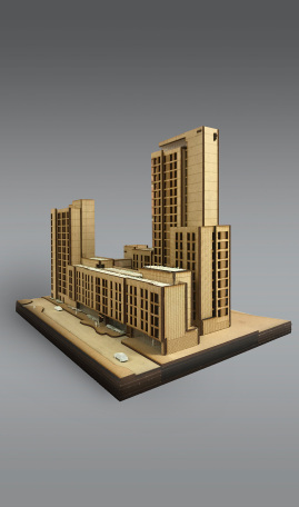 Parkside Infinity Coventry designed by Apt Architects London