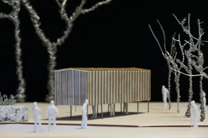 The Brodsky Pavilion designed by Apt Architects London