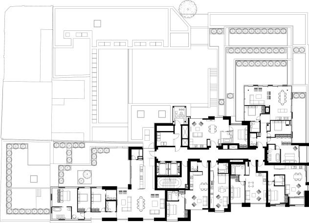 Huntingdon Shoreditch designed by Apt Architects London