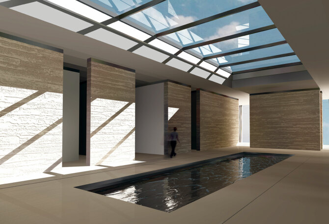 Holmewood House Marlow, designed by Apt Architects London